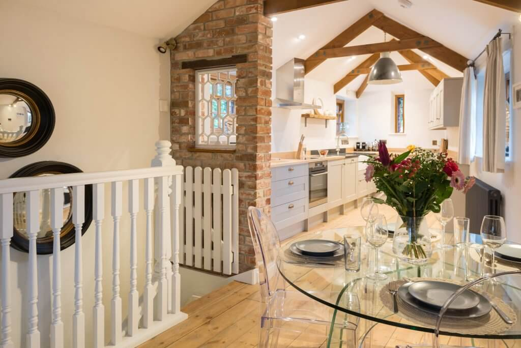First and Last, Port Isaac, Cornwall, open plan living area