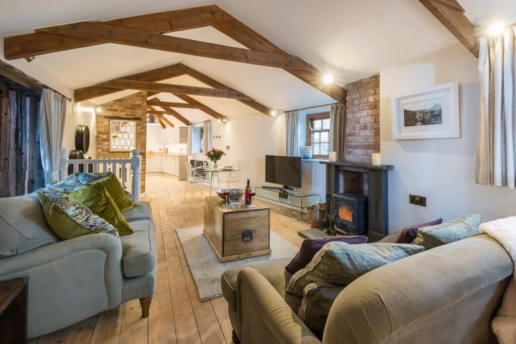 First and Last, Port Isaac, Cornwall, Interior Sitting Room view one